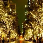 東京丸の内クリスマスイルミネーションは「アナと雪の女王」他ディズニーいっぱい!