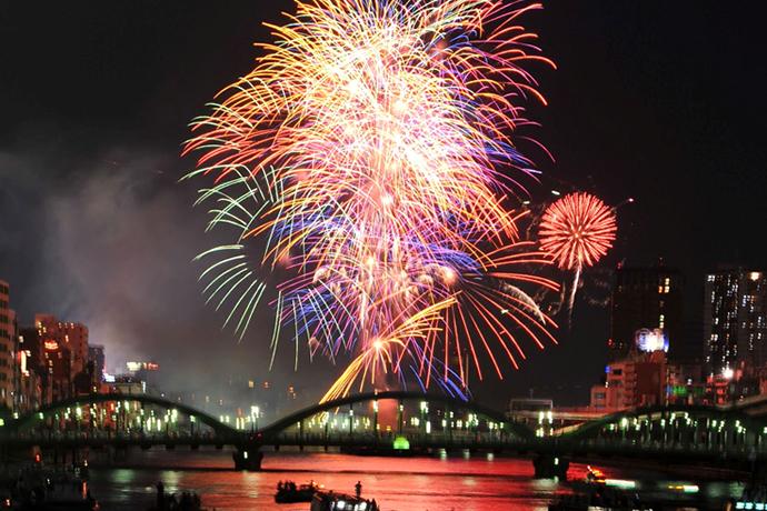 Tokyo Summer Festival Fireworks
