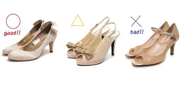結婚式で女性ゲストの靴の基本マナーは? da3aa6cfdb0e2f7235b705451985328f. 結婚式